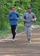 Бег для здоровья при болезни Бехтерева
