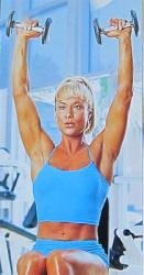 Силовая гимнастика при болезни Бехтрева для плечевых мышц и суставов