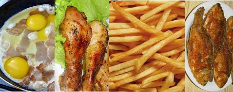 Жареная пища при болезни Бехтерева дает только вред
